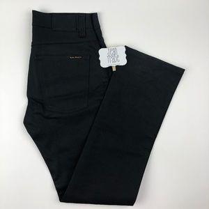 31x31 Men's Nudie Jean Slim Jim Dry Black